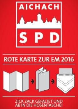 """Bilddatei """"Rote Karte zur EM 2016"""""""