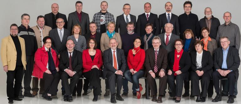 Gruppenbild der Stadtratskandidaten