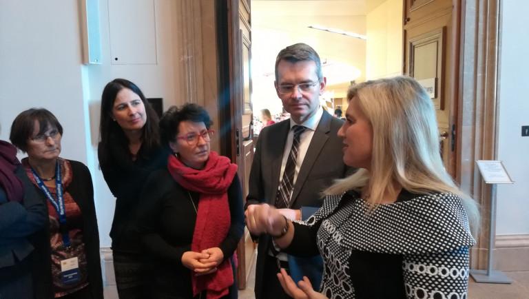 Delegation zu Gesprächen in Sachen Geburtsstation Aichach im Landtag (Januar 2019) 2