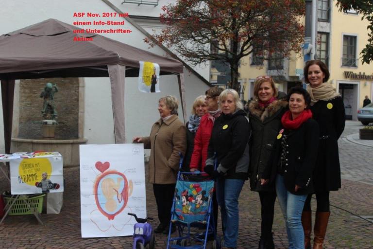 ASF-Aktionen für Hebammen im November 2017